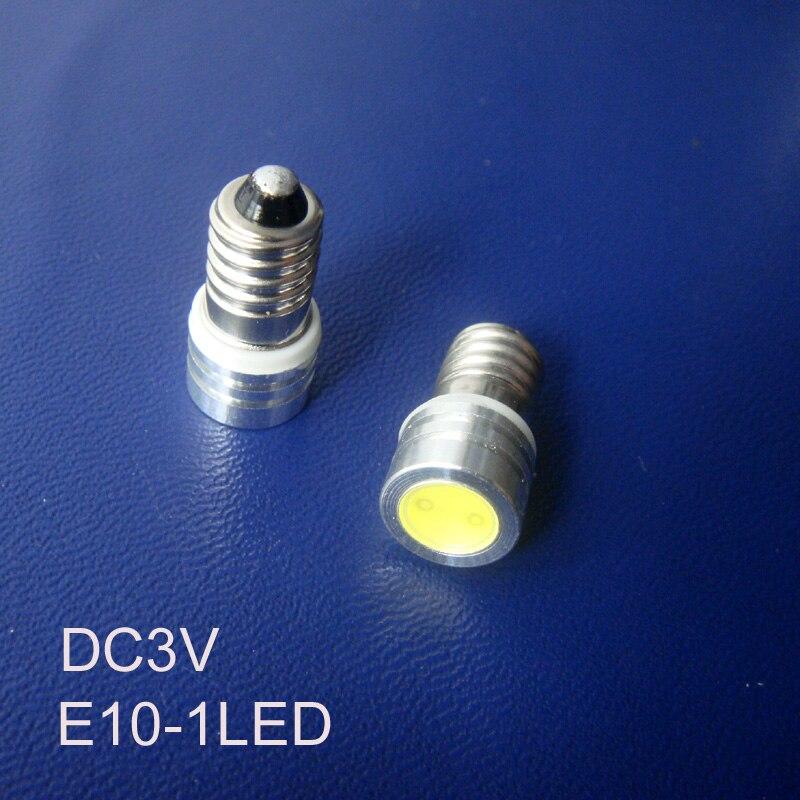 Высокое качество DC3V E10 светодиодный свет инструмента, Предупреждение свет, E10 светодиодный индикатор, светодиодная лампа пилот Бесплатная д...