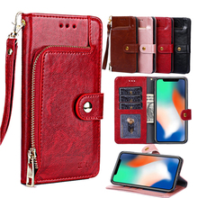 Wallet Leather Case For Xiaomi Redmi 6A Note 7 Pro note 5 6