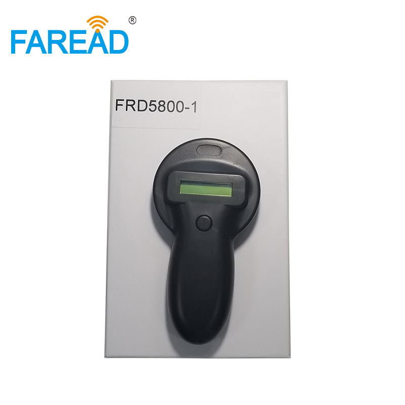Free Shipping 134.2 KHz USB RFID FDX-B Pets ID Ear Tag Portable Dogs Microchip Scanner Animal Chips Reader For Veterinary