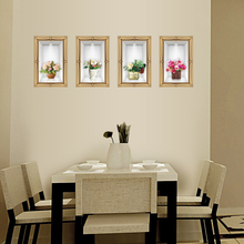 Porch wall stickers 3 d restaurant background of the sitting room bedroom Can remove European simulation va