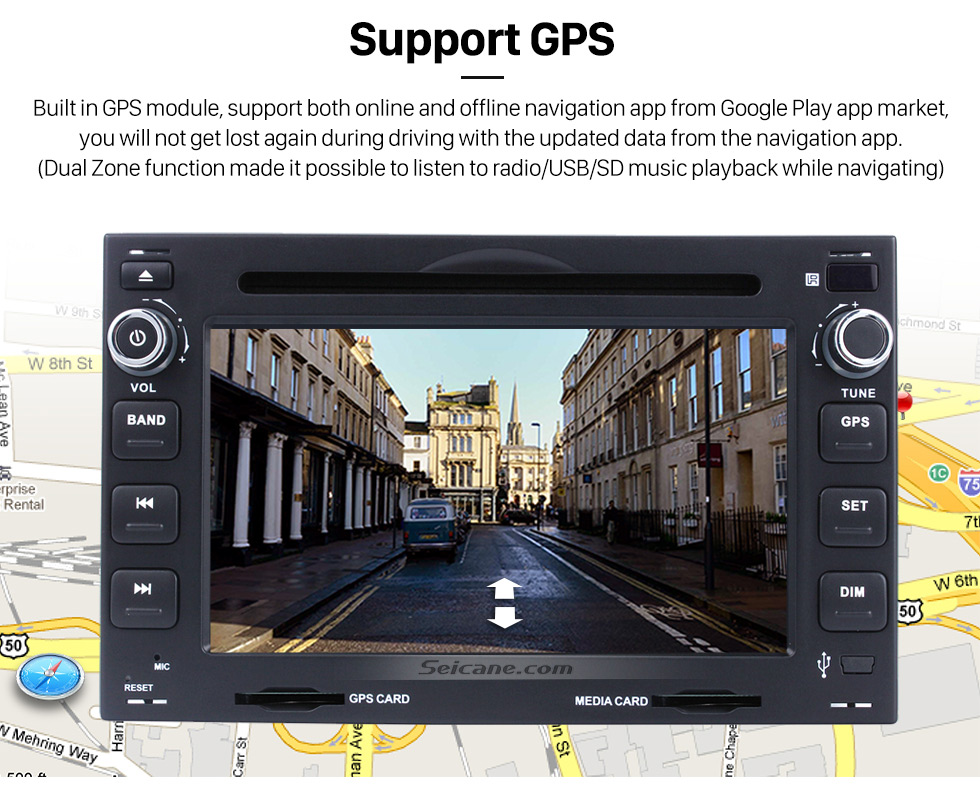 Android 4.4.4 for 1998 2010 PEUGEOT 307 Radio DVD Player GPS ...