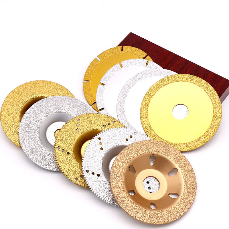 1PCS 16mm/20mm-100mm Diamond Saw Blade Tile Marble Cutting Blade Angle Grinder Cast Iron Grinding Round Cutting Disk