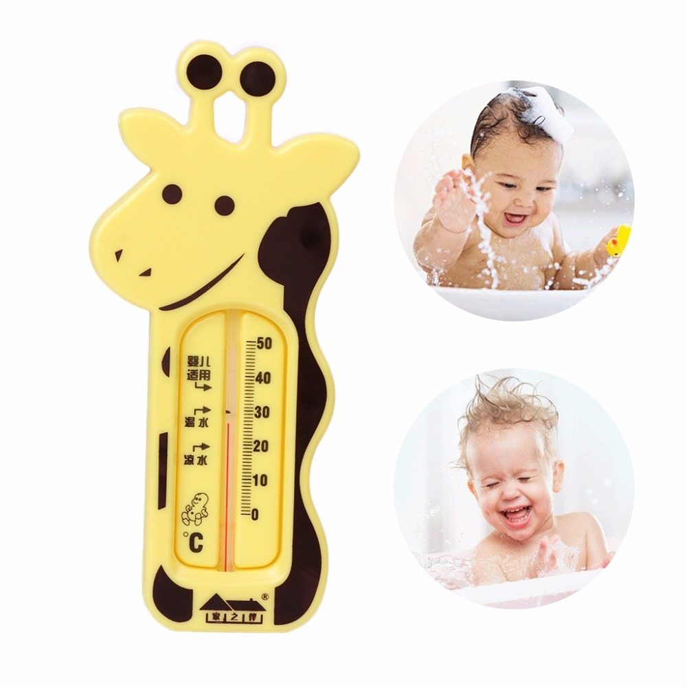 Water Thermometer Baby Bathing Giraffe Shape Temperature Infants Toddler Shower