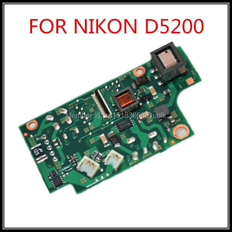 Tüketici Elektroniği'ten Kamera Anakart'de Yeni orijinal Tamir Parçaları D5200 powerboard Nikon D5200 elektrik panosu D5200 flash kurulu ücretsiz kargo