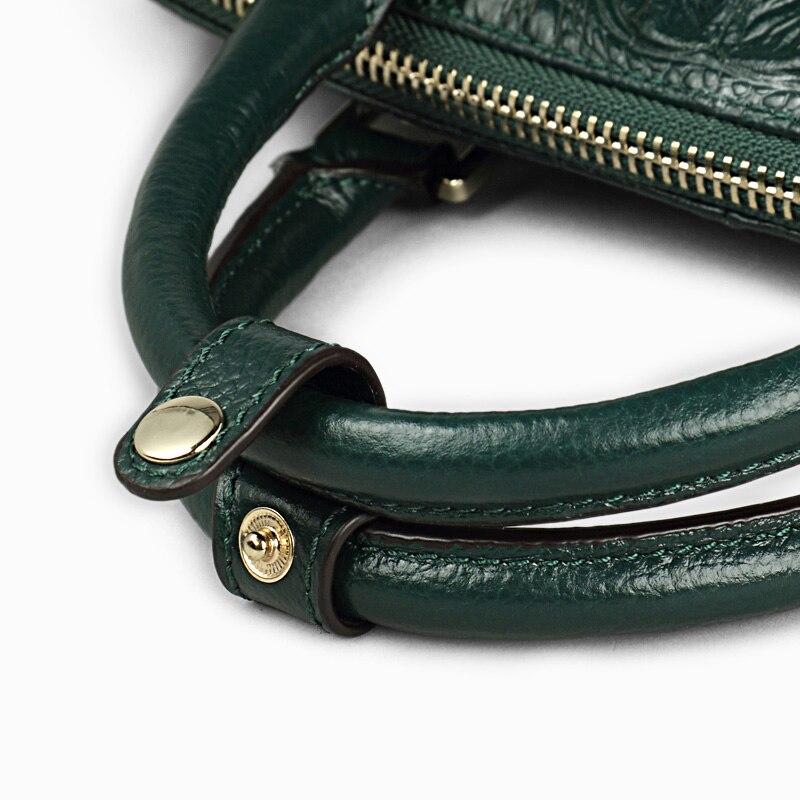 Qiwang Authentique Femmes Crocodile Sac 100% En Cuir Véritable Femmes Sac À Main Vente Chaude Fourre-Tout Femmes Sac Grande Marque Sacs De Luxe - 5