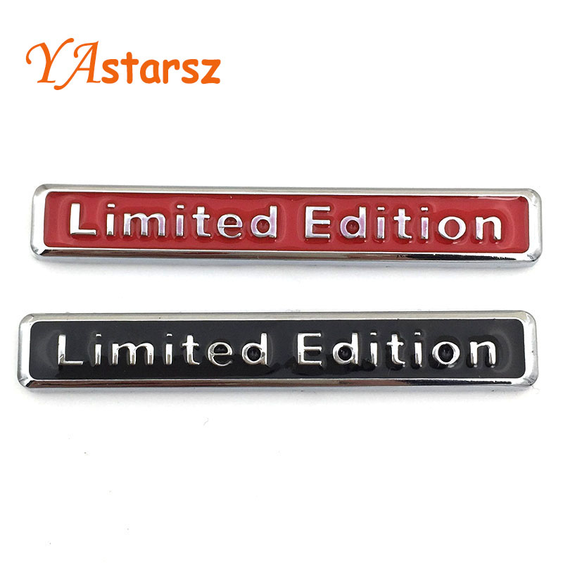 Brand 3D Metal Chrome Limited Edition Car Sticker Badge Decal Auto Motorcycle Limited Edition ...