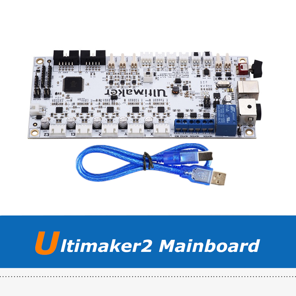 High-Quality Ultimaker2 V2.1.4 Control Board, UM2 3D Printer Motherboard With USB CableHigh-Quality Ultimaker2 V2.1.4 Control Board, UM2 3D Printer Motherboard With USB Cable