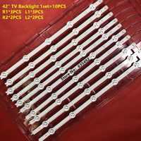 100% New LED backlight Strip For 42inch TV LC420DUE 42LA620V 42LN540V 42LA615V 6916L-1412A 6916L-1413A 6916L-1414A 6916L-1415A