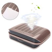 68W Strong Power Nail Suction Dust Collector Nail Dust Collector Vacuum Cleaner Nail Fan Art Salon Nails Suction Equipment