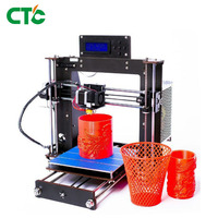 Prusa i3 Kit 3D Printer Wood Frame High Precision Power Failure Resume Printing Impressora Europe ship from Germany