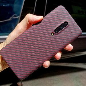 Image 1 - Coque arrière en fibre daramide pour OnePlus 7 Pro étui de protection 7T 8 nord étuis et housses en carbone