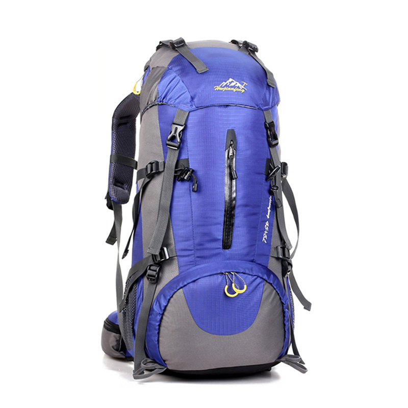 все цены на 50L Waterproof Travel Hiking Backpack Sports Bag For Women Men, Outdoor Camping Hiking Climbing Bag, Mountaineering Rucksack онлайн
