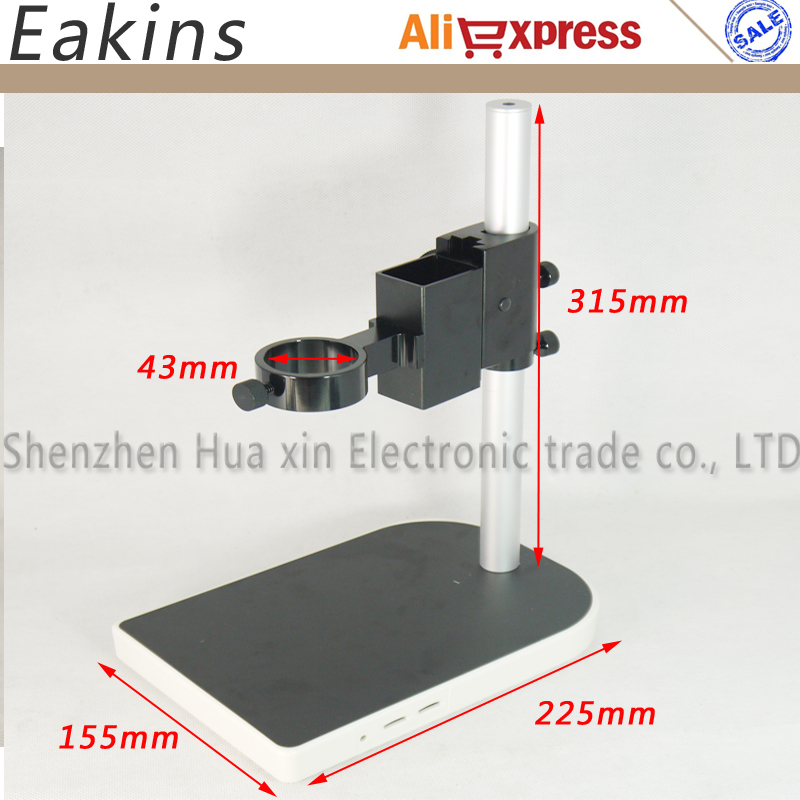 13MP 60FPS Cámara de microscopio industrial HDMI VGA + lente 130X + - Instrumentos de medición - foto 5