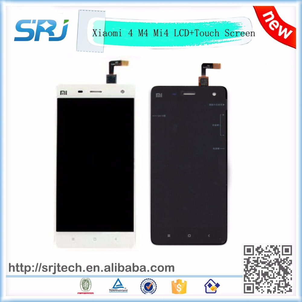 Original 5 Inch For Xiaomi 4 M4 Mi4 LCD Display With Touch Screen Digitizer Glass Sensor Assembly Replacement Parts 100% Tested