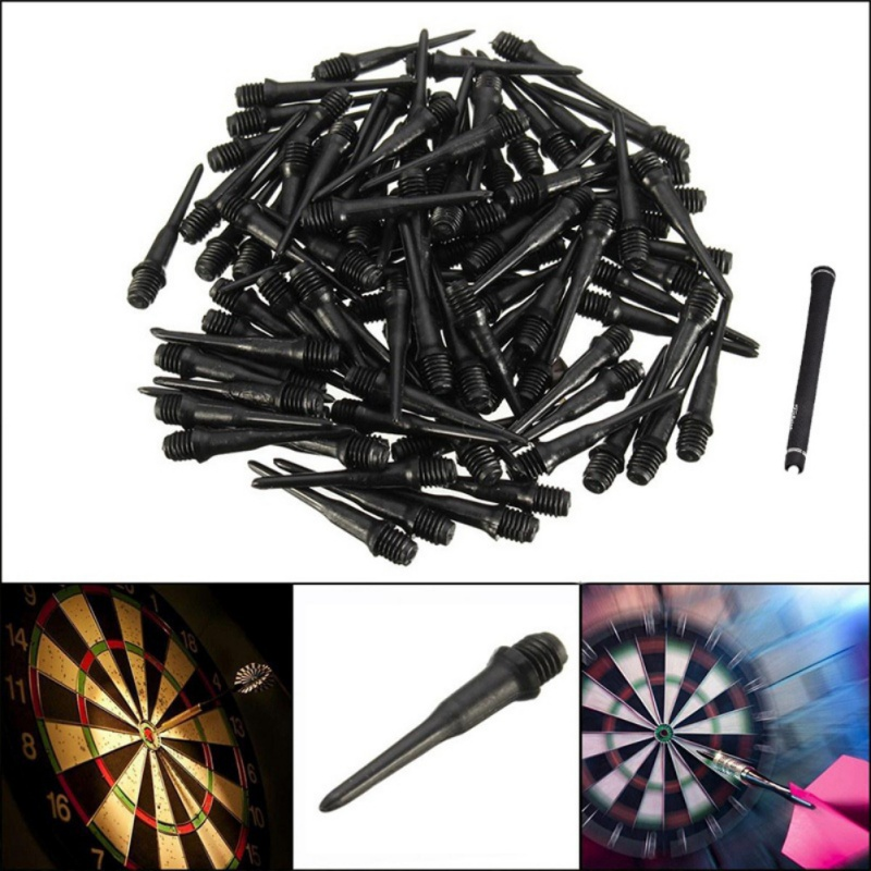 50pcs/set 22mm Soft Tip Dart Points And Electronic Darts High Quality