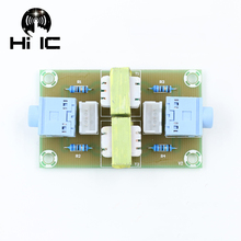 Audio Isolator Akoestische Geluidsisolatie Elimineren Huidige Geluid Interferentie Filter Ground Loop Suppressor Transformator Koppeling