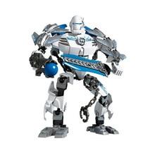 Hero Factory 4 Soldier Robots Stormer XL Action Figures Building Blocks Toys Bricks Best gift for boy