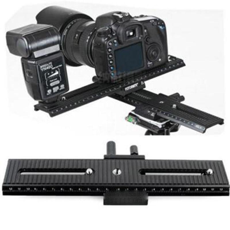 Macro Focusing Rail Slider Trimming Metal Tripod Movable Range 2 Way 1/4 Screw LP-01 LP-02 LP-03 For canon nikon dslr camera