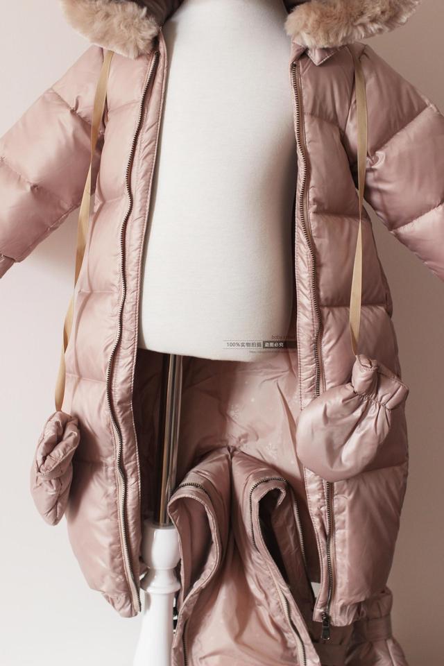 Infant snowsuit