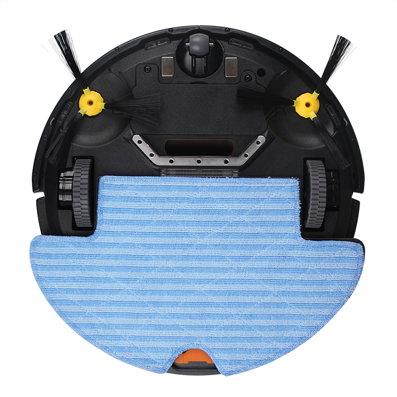 FBA LIECTROUX Robot Vacuum Cleaner Q8000 WiFi Wet Dry Mop Map Navigation Smart Memory UV Sterilize Suction3KPa Brushless Motor in Vacuum Cleaners from Home Appliances