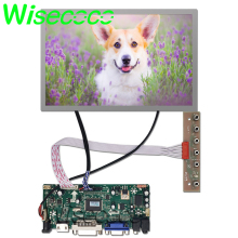 купить HDMI DVI VGA LCD Controller Board with 12.1 inch 1280x800 AA121TD02 tft LCD screen Display Panel по цене 4622.36 рублей