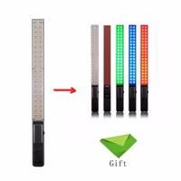 YONGNUO 360 LED YN360 5500K Handheld LED Video Light RGB Colorful 39.5CM ICE Stick Professional Photo LED Stick For DSLR Camera