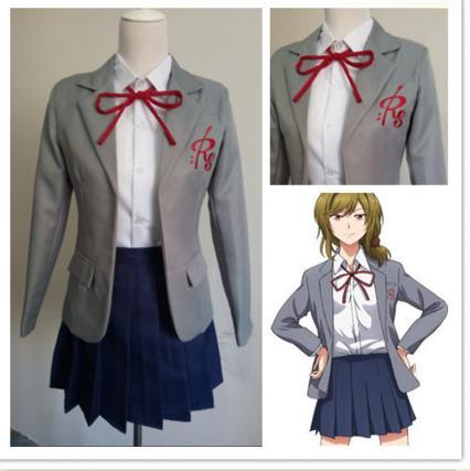 Anime Gekkan Shoujo Nozaki Kun Cosplay Costume Monthly Girls Nozaki Kun Sakura Chiyo Seo Yuzuki School Uniform Cosplay Costume Gekkan Shoujo Nozaki Kunanime Girl Costume Aliexpress