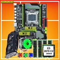 HUANANZHI X79 Pro con doble M.2 NVMe SSD para GTX750TI 2GD5 CPU Intel Xeon E5 2670 C2 6 tubos refrigerador RAM 32G (4*8G)