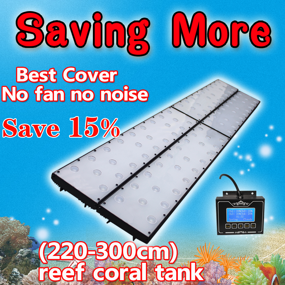 Fish tank light timer - 96 240cm 8ft High Penetration Timer Acuario Marino Aquarium Light Led Coral Reef