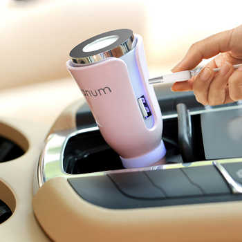 DEKAXI Mini Car Humidifier Aroma essential oil Diffuser Aromatherapy Portable Car Air Humidifier cool mist Purifier in car - DISCOUNT ITEM  45% OFF All Category