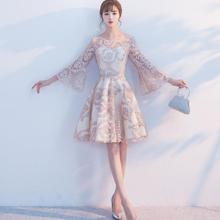Evening-Dress Bridesmaid Female New Korean-Version Sweet Princess Student