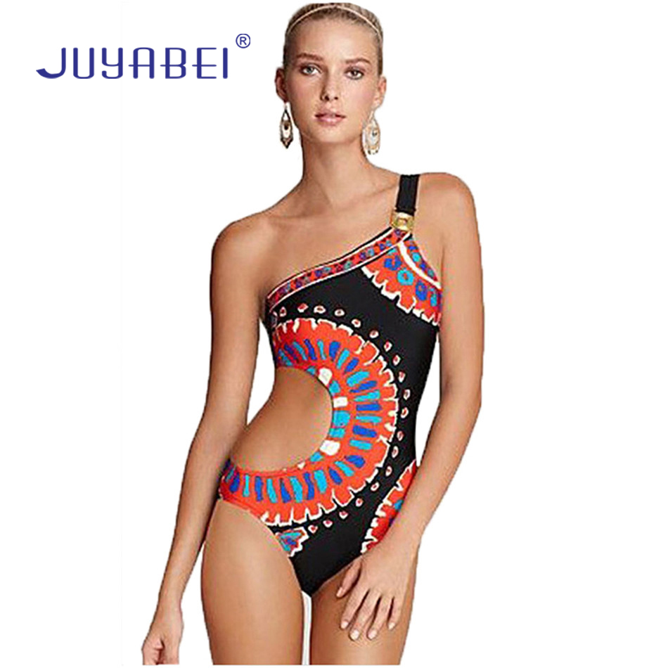 c6c63bcdce Juyabei sexy women padded one shoulder swimwear indian sytle jpg 950x950 Padded  one piece bathing suit