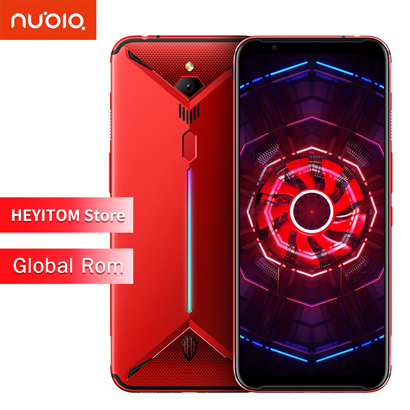 "global rom original ZTE nubia red magic 3 mobile phone 6.65 ""Snapdragon 855 front 48MP rear 16MP 6G RAM 64 g ROM 5000 mAh"
