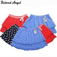 女の子のスカート夏5スタイル綿二重層赤ちゃん女の子子供プリンセスチュチュスカート子供カジュアル服