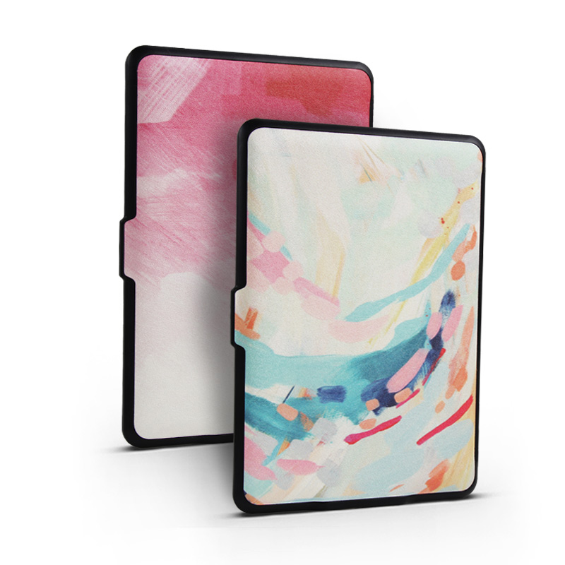 For Amazon Kindle Paperwhite 1/2/3 Case Protective Shell Cover 6 inch with Finger Buckle Free Shipping E-Books Case for Kindle sleeve pouch case for amazon kindle paperwhite new kindle kindle voyage 6 inch easy carry e book e reader sleeve cover case bag