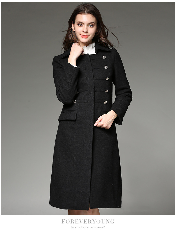 Royal Blue Duffle Coat - Coat Racks