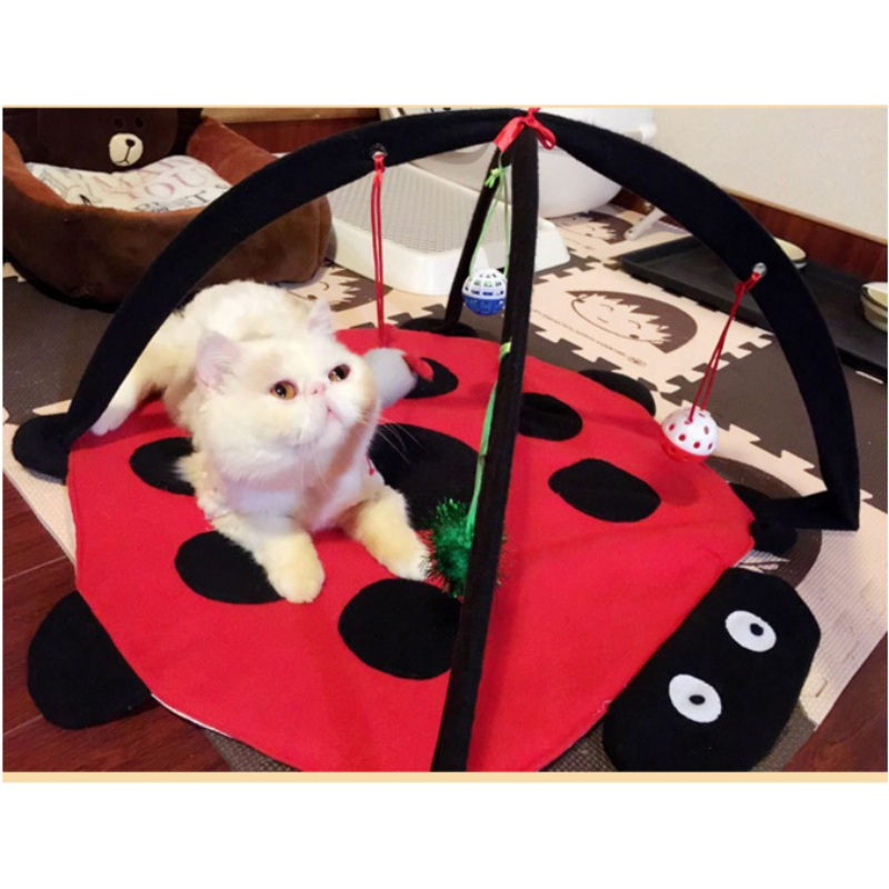 Pet Dog Toy Play Tent Bed Activity Funny Cat Toys Kitten Puppy Exercise Pad Cushion Gift