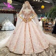 AIJINGYU скромные свадебные наряды, которые Amazings Buy, вечерние костюмы для невесты, кружевные куртки для свадебных платьев