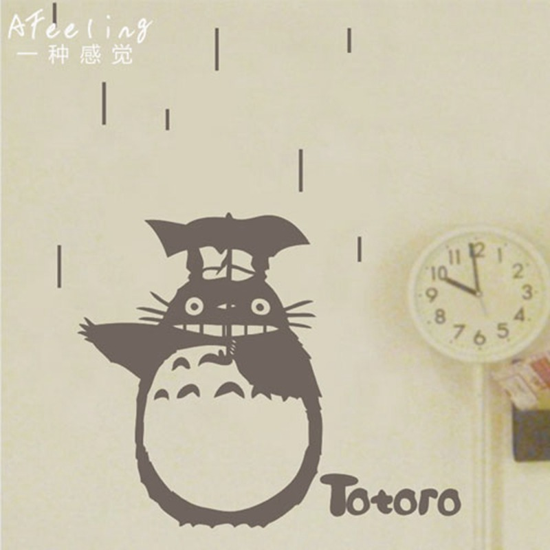 aliexpress com how to decorate your home with totoro wall art totoro