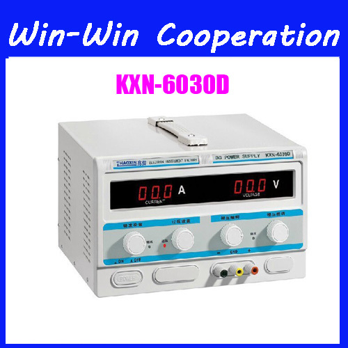 New High-Power DC Power KXN-6030D 0-60V 30A Adjustable DC Constant Current Power Supply Plating Aging rps3020d 2 digital dc power adjustable power 30v 20a power supply linear power notebook maintenance
