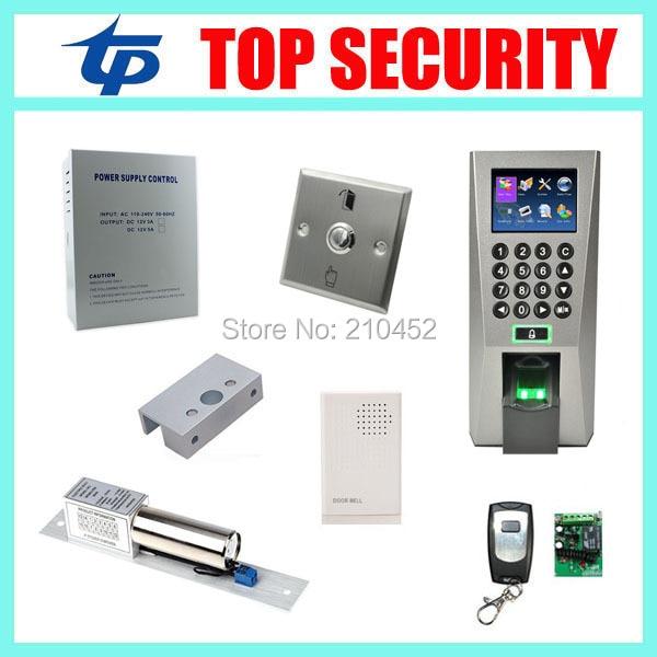 ZK F18 fingerprint access control system full linux TCP/IP biometric fingerprint time attendance and access control system
