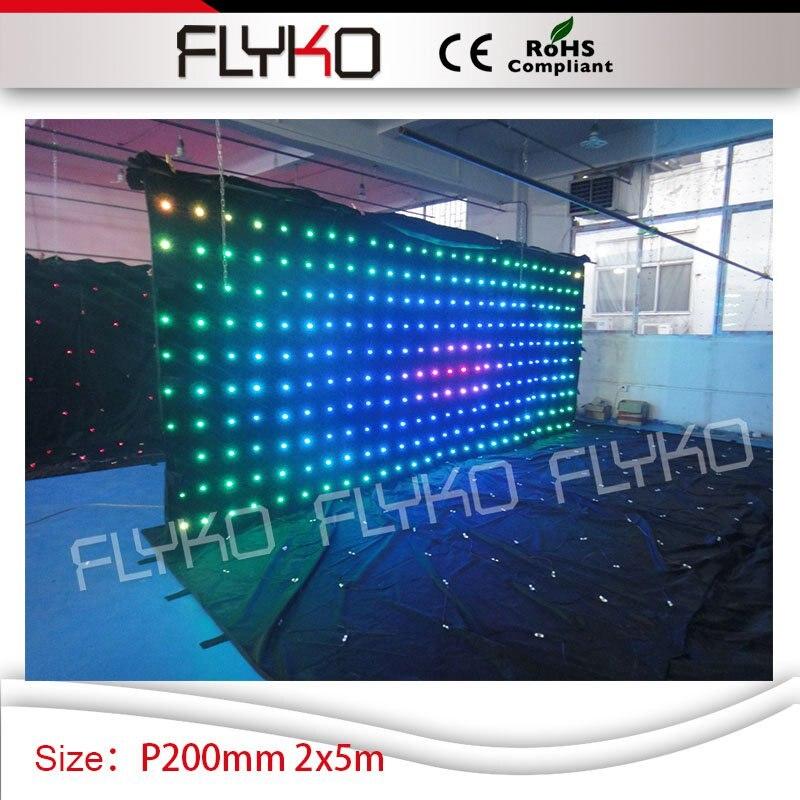 Nieuw 7ft 17ft P200mm video hochzeit dekoration disco licht DJ Booth DMX MA-66