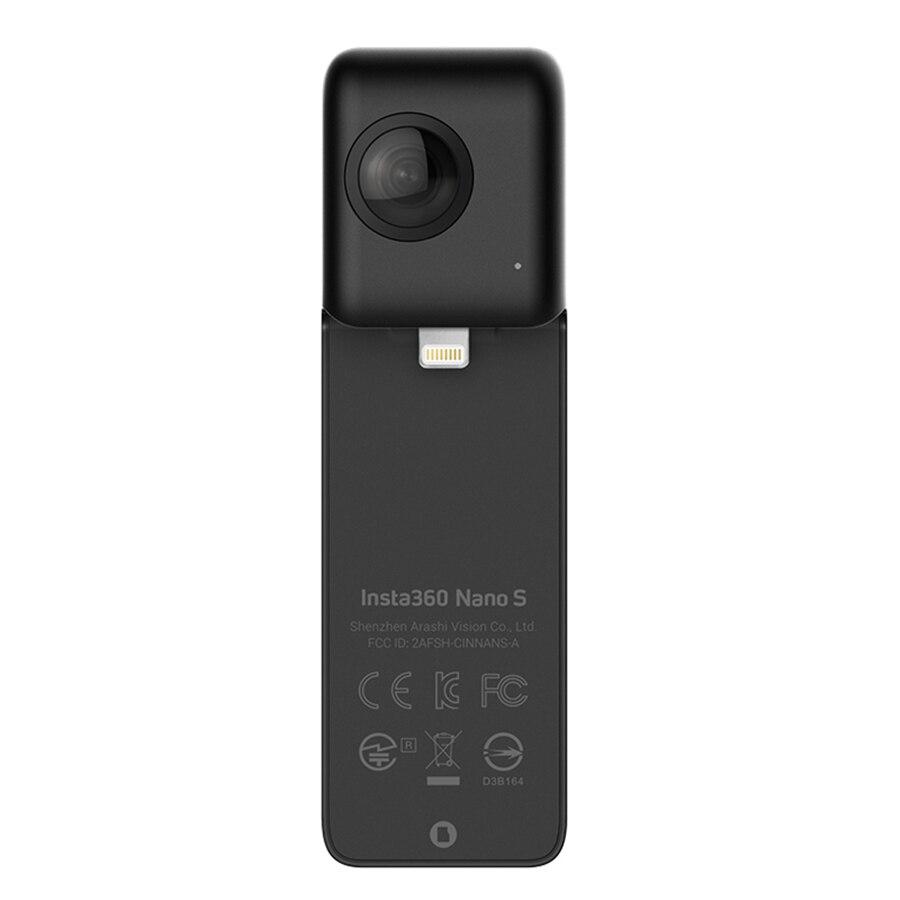 Insta360 Nano S 4 K 20MP 360 VR Vidéo Caméra Panoramique Livestream Vidéo Chat MultiView Vidéo Caméra pour iPhone X/8/8 plus/77 plus