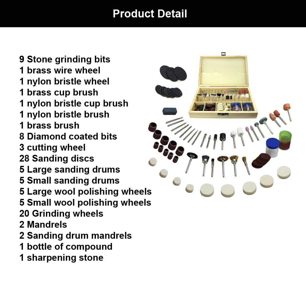 Flexsteel 100pcs multitool universale rotativo accessorio - Utensili abrasivi - Fotografia 4