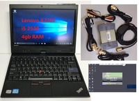 MB Star C3 SD Connect 3 and Lenovo X220T laptop with software support 12V & 24V cars and trucks Diagnostic Scanner ready to use