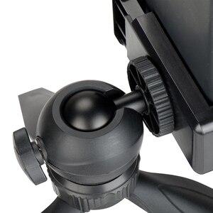 Image 4 - Ulanzi Mini Tripod for Phone,Travel Tripod with Detachable Ballhead for iPhone Samsung Canon Nikon GoPro 6 Smooth Q Smooth 4 DJI