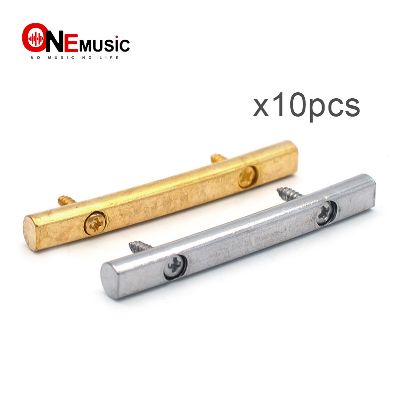 10pcs brass guitar string retainers bars tension bar for floyd rose tremolo systems. Black Bedroom Furniture Sets. Home Design Ideas