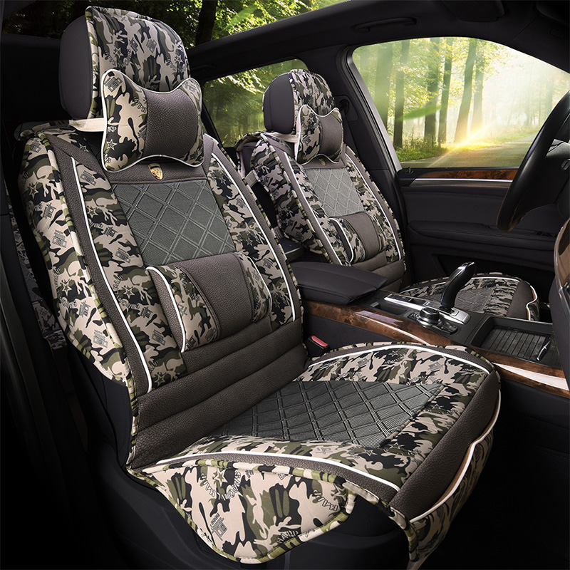 Stupendous Us 233 22 Brand Fashion Linen Camouflage Universal Car Seat Cover Set In Automobiles Seat Covers From Automobiles Motorcycles On Aliexpress Forskolin Free Trial Chair Design Images Forskolin Free Trialorg