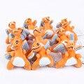 Anime Cartoon Monster Umbreon Sylveon Vaporeon Charizard Plush Pendant Toys Soft Stuffed Animal Dolls 10pcs/lot