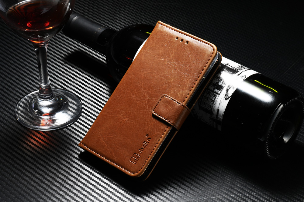 Brown Bigsweety PU Leather Passport Cover Travel Wallet Credit Card Holder Cover